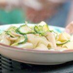 10. Pâtes aux calamars, courgettes & bottarga